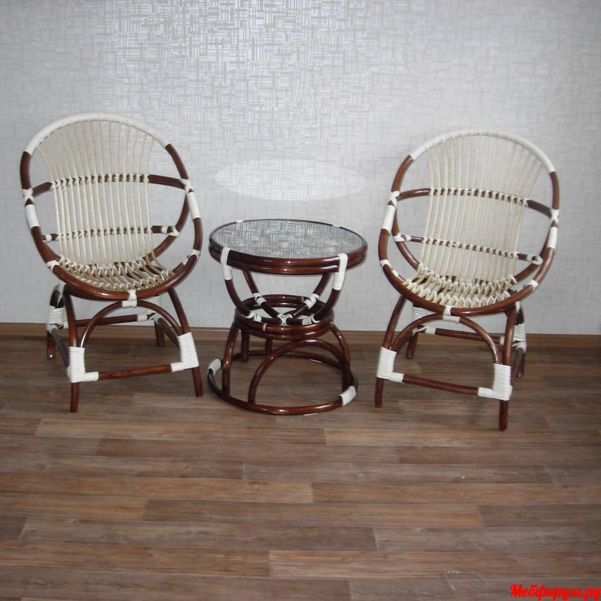 Кресла Ракушки и стол Песочные часы с морским дном.JPG