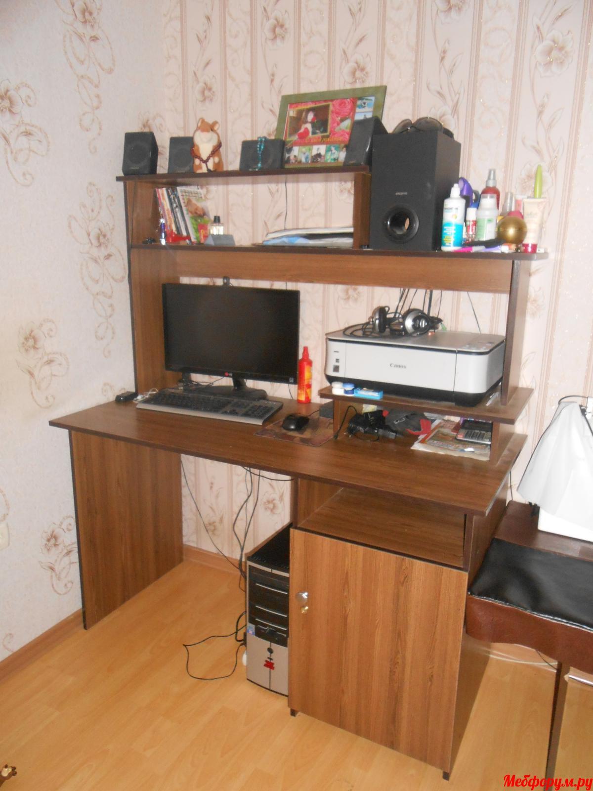 Мой компьютерный стол своими руками